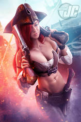 Miss Fortune: League of Legends by Jeffach