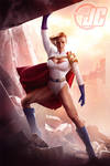 Power Girl: Rise from the Ashes by Jeffach