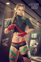 Cammy: Prefight Tension by Jeffach