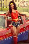 Retro 80's Wonder Woman by Jeffach
