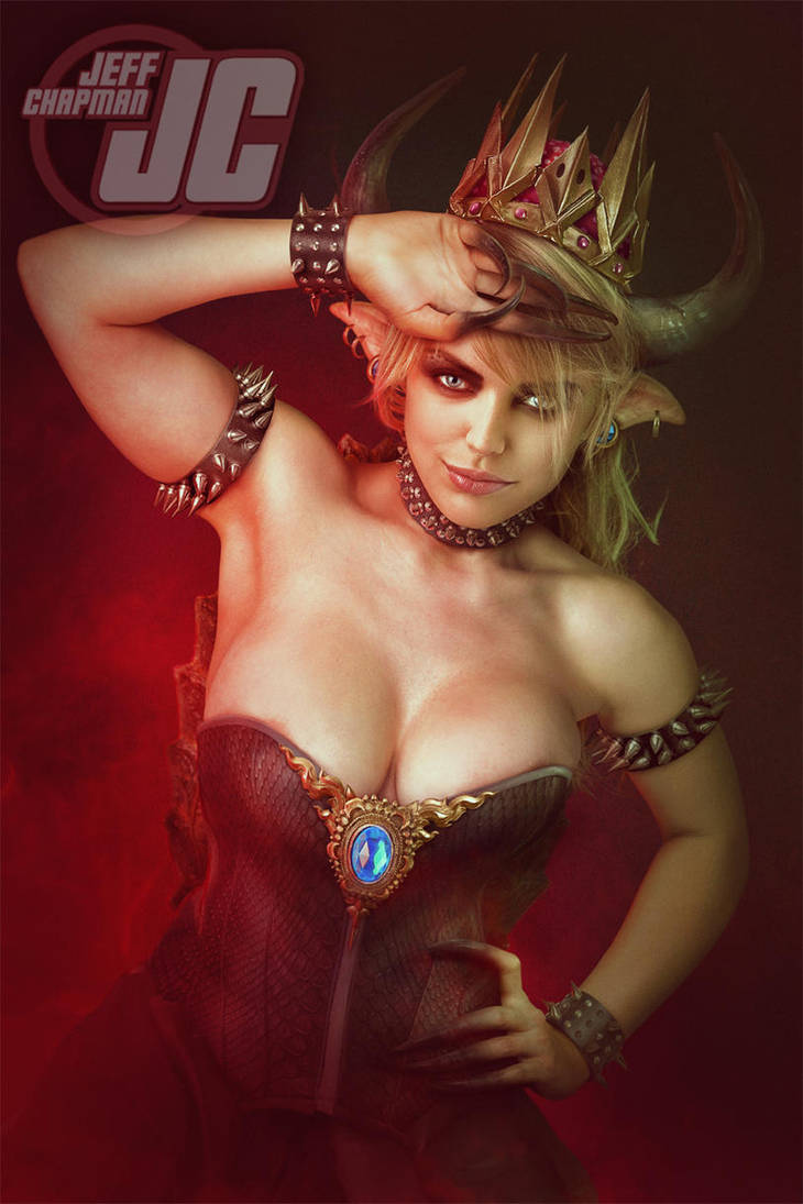 Bowsette by Jeffach