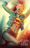 Punk Supergirl by Jeffach