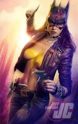 Punk Batgirl by Jeffach