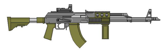 7.62 mm AK by crimsonthunder1995