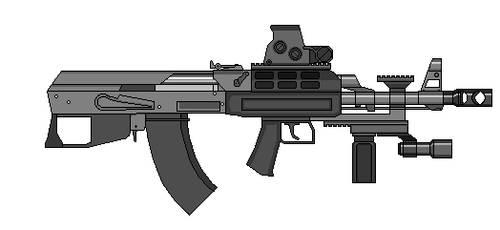 AK 47 bullpup by crimsonthunder1995