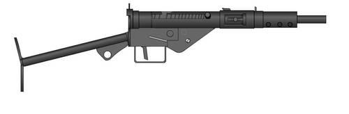 PMG 0.6 Sten Gun MK II by crimsonthunder1995