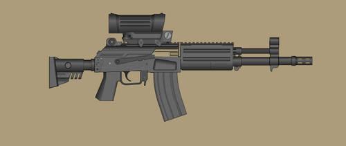 Mini 5.56mm AK by crimsonthunder1995