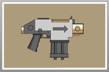 Bolt Pistol by crimsonthunder1995