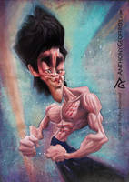 Bruce Lee by AnthonyGeoffroy