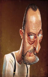 Jean Reno by AnthonyGeoffroy