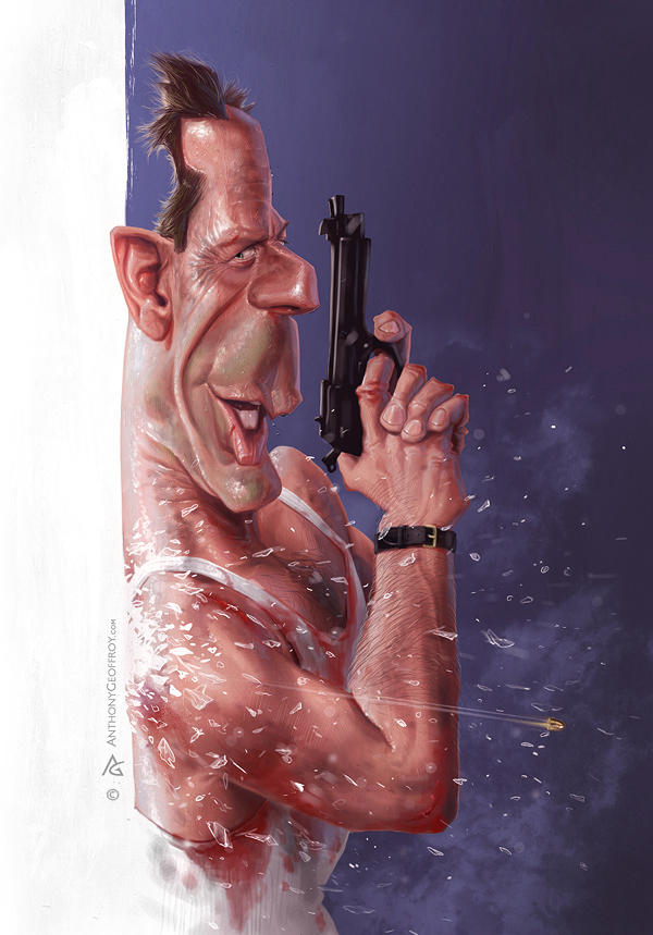 John McClane by AnthonyGeoffroy