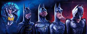 Batman Chronology by AnthonyGeoffroy