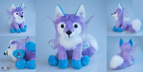 Webkinz Fairy fox by meplushyou
