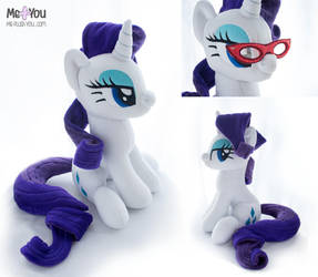Rarity with magnetic glasses by meplushyou