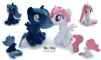 Filly princesses by meplushyou