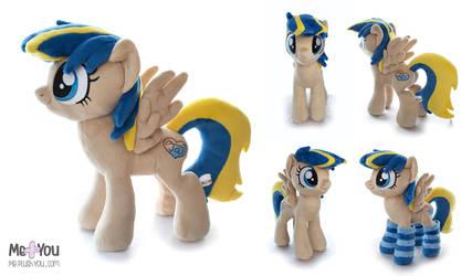 Pony OC plush ApppLLeDashNL by meplushyou