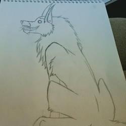Wolf again. by TheDark-Carnival