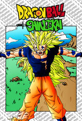Dragon Ball Shinsekai Volume 1 Cover Art by Juraikken