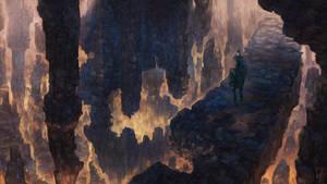 Wanderer below by Friis