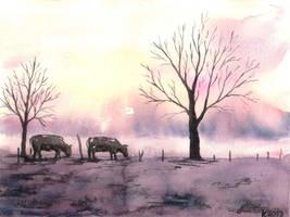 Winter 2 by benjaminbananatree