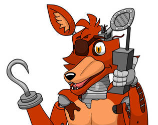 Withered Foxy (New Design) by IndieTimber