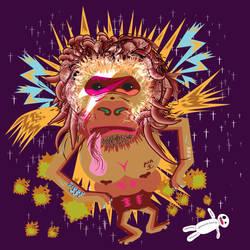 Gorillain Sane by pixel8me