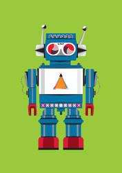 Robot SteveO by pixel8me