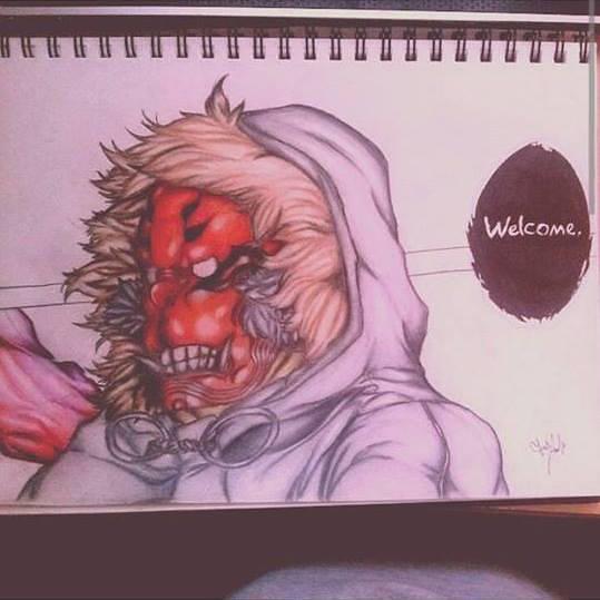 Devil Ape Aka Renji Koma From Tokyo Ghoul By Aotakeshi On Deviantart