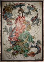 oriental.. by buchtattoo