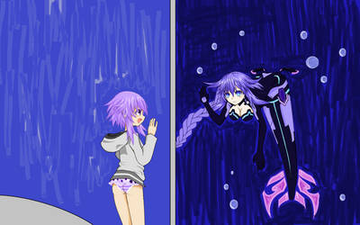 IFI Nep Paint Contest Entry by SilvueWolf