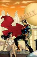 Lois and Clark by ChrisShields