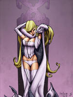 Emma Frost....AGAIN O_o by ChrisShields