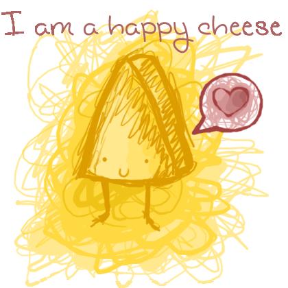 happy cheese by darkmoon3636