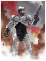 RoboCop by gregmcevoy