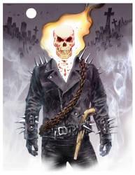 Johnny Blaze by gregmcevoy
