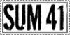 SUM 41 Stamp by oxygenik