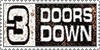 3 Doors Down Stamp by oxygenik