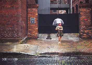 Rainy Day in Ybor by CandiceSmithPhoto