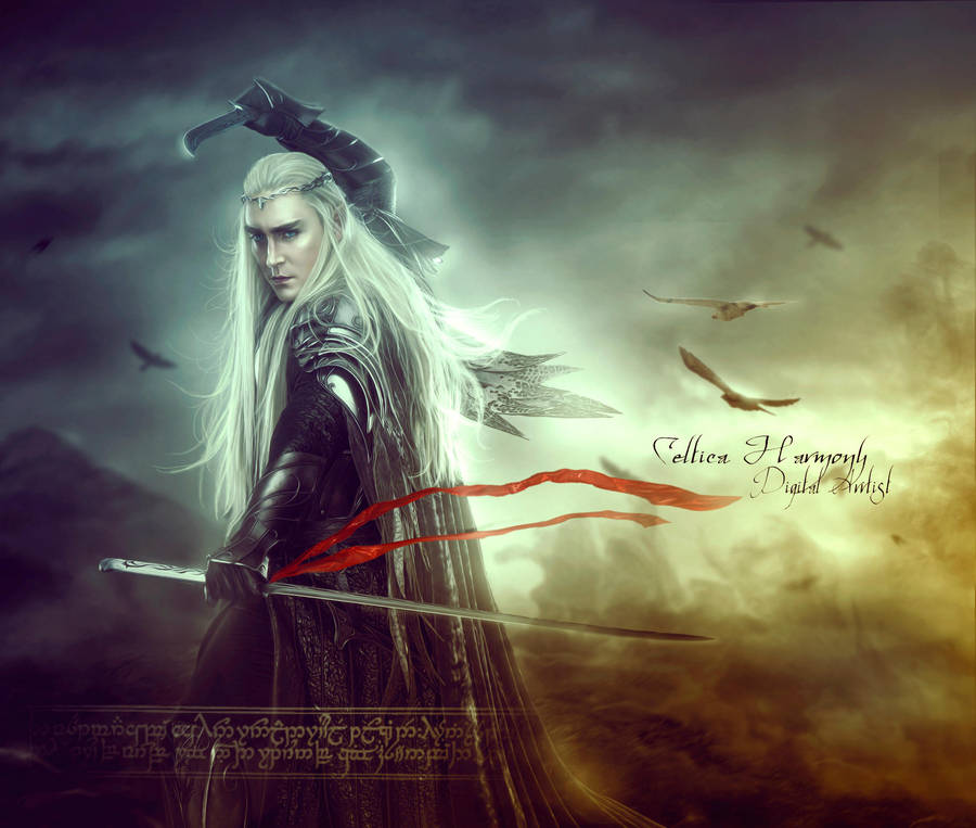 Accursed Land (Thranduil) by Celtica-Harmony