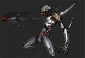 robot 11 by kanartist