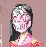 Queen of Skulls by buttermonster