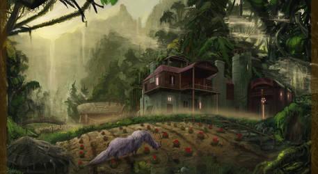 Jungle Farmhouse by AtSkiy