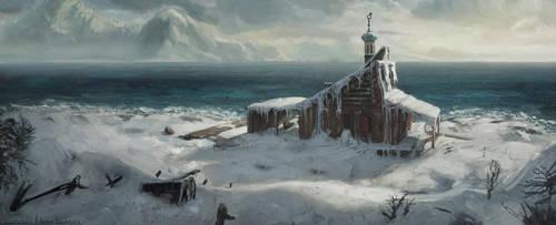 Boathouse by AtSkiy