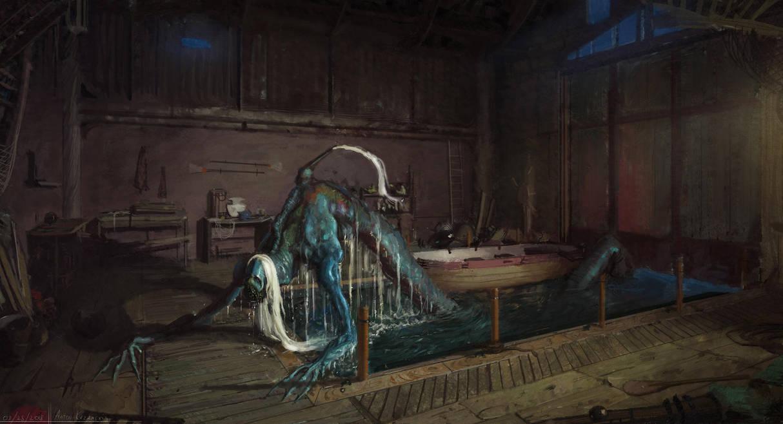 Not so little mermaid by AtSkiy