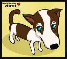 Happy Birthday Zorro by yami-joey