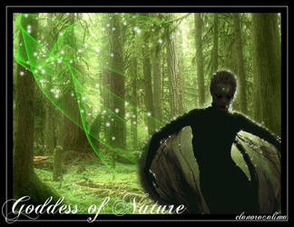 Goddess of Nature by elanorancalima