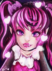 Draculaura Monster High by Kimyri