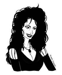 My version - Bellatrix Lestrange by TakumiIto