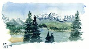 St Elias Mountains by Dulliros