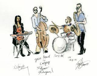 Jazz Band in Calgary by Dulliros